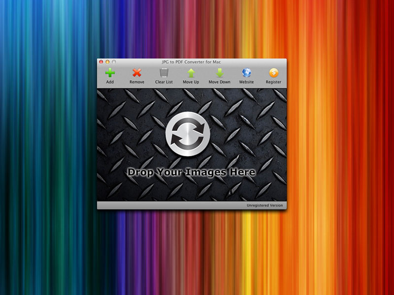 JPG To PDF Converter For Mac 2.1.7